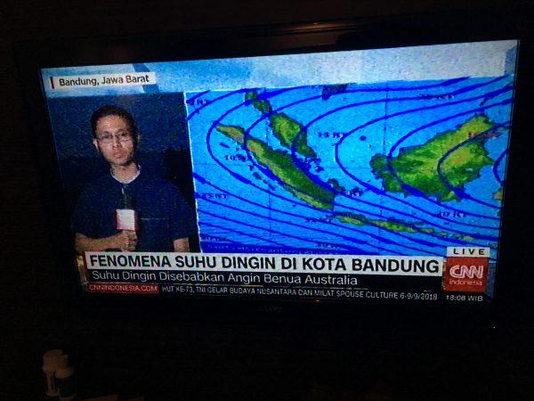 Berapa derajat di Bandung suhunya saat ini?