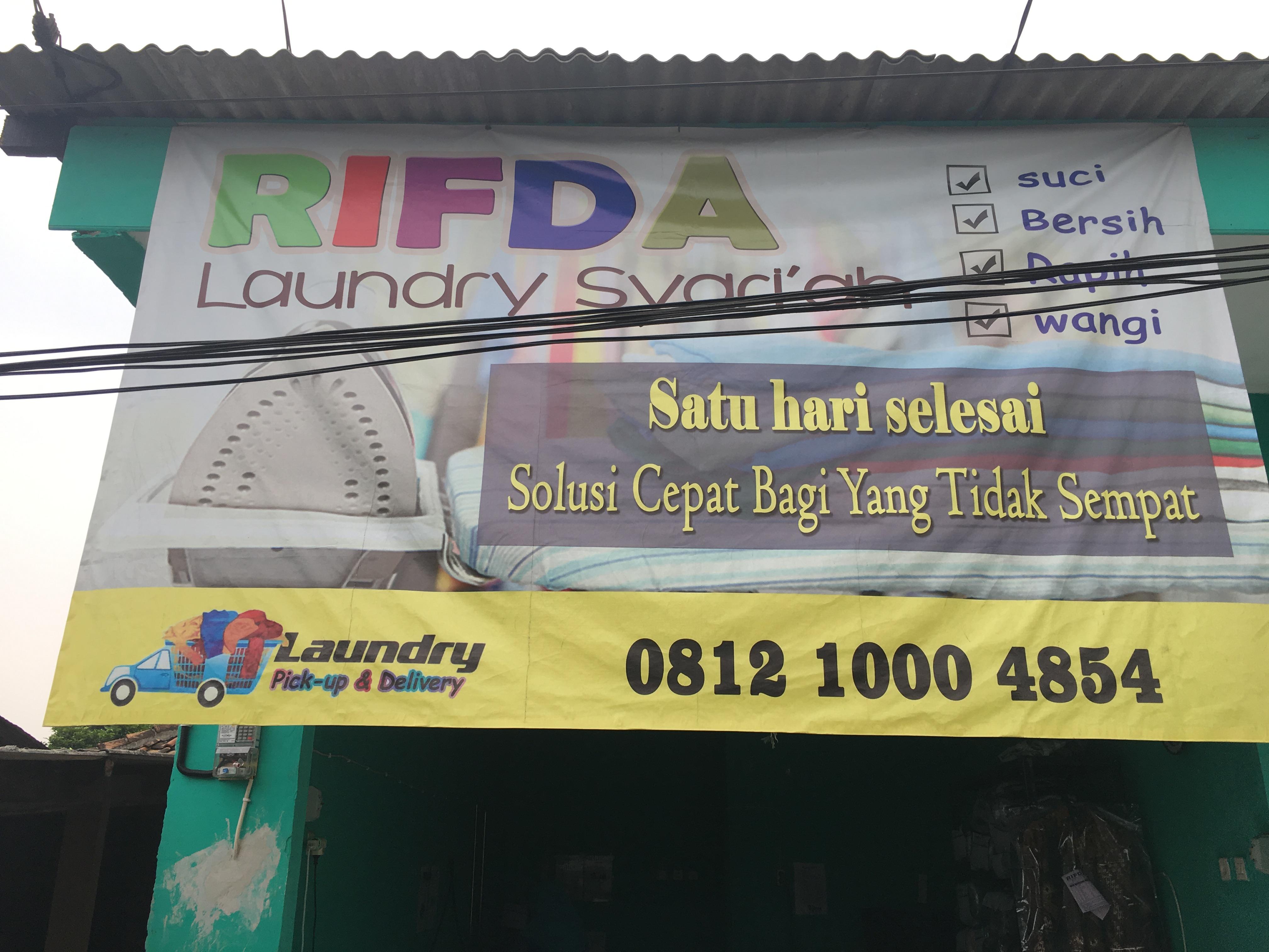Laundry Syariah di Tangerang Banten hubungi 081210004854