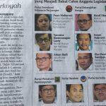 Pengertian vote getter dalam pencalonan anggota legislatif