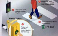 Pelican crossing hadir di Jakarta untuk kenyamanan pejalan kaki