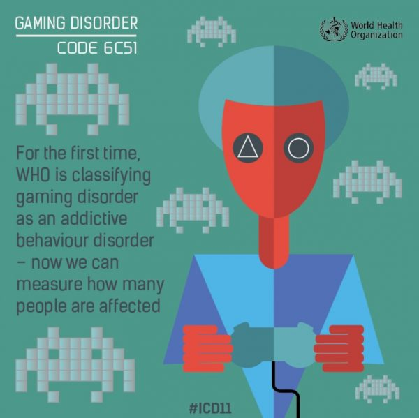 Kecanduan game adalah penyakit gangguan mental, pernyataan WHO