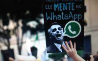 Jair Bolsonaro terpilih menjadi Presiden Brazil dengan bantuan Whatsapp